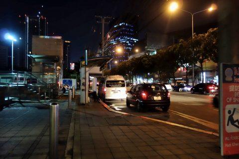 MRTタイ文化センター駅のバス停