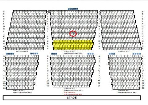 サイアムニラミットの座席図