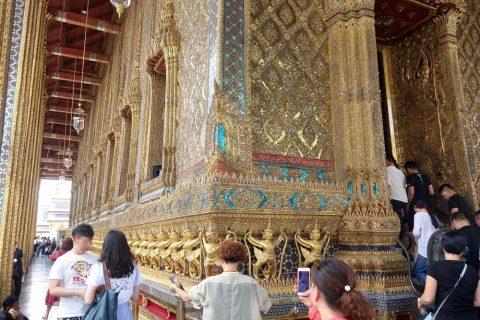 エメラルド寺院の回廊
