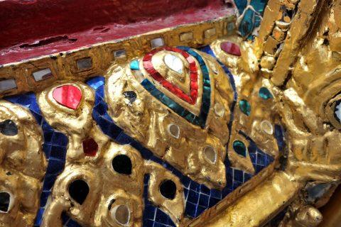 エメラルド寺院の細かな装飾