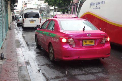 バンコクメータータクシー交渉制