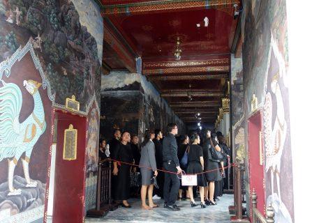 ワットプラケオの国王本葬における影響