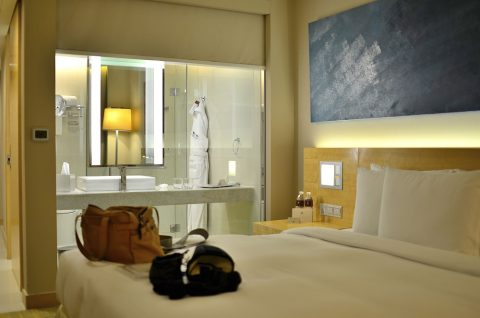 DoubleTree-by-Hilton-Kuala-Lumpurダブルベッド