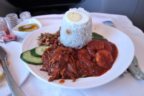 chef-on-call「Nasi Lemak with Prawn Sambal and Ikan Bilis Sambal」