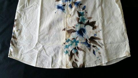 沖縄かりゆしMAJUNの裾