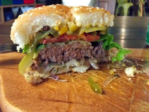 la-boca-latino-barのハンバーガー