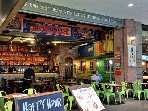 la-boca-latino-bar店頭