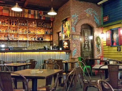la-boca-latino-barの店内