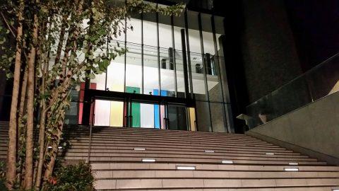 武蔵野音楽大学江古田新キャンパスの階段