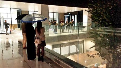 武蔵野音楽大学江古田新キャンパスでアンサンブル