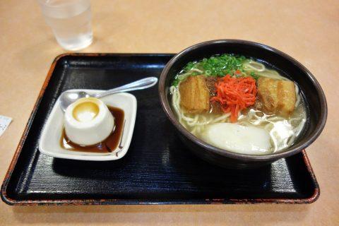そば処琉風の沖縄そばとジーマーミ豆腐