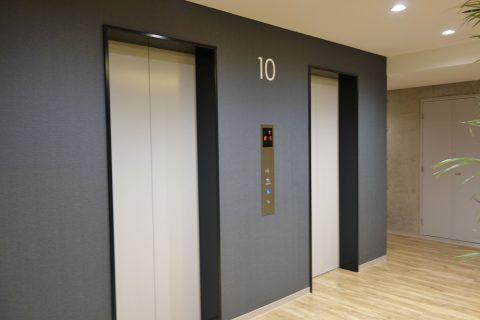 那覇ウエストインのエレベーター
