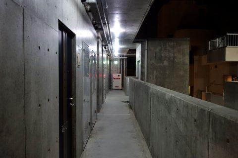 那覇ウエストイン本館の廊下