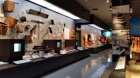 沖縄県立博物館・美術館の展示エリア
