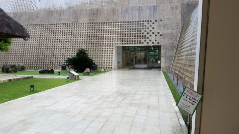 沖縄県立博物館・美術館の駐車場