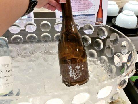 バンコク・サクララウンジの日本酒 「九頭竜」