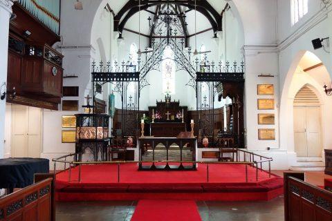 クアラルンプールSt.Mary's教会の祭壇