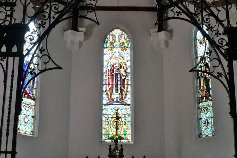 クアラルンプールSt.Mary's教会のステンドグラス