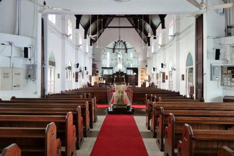 クアラルンプールSt.Mary's教会の講堂