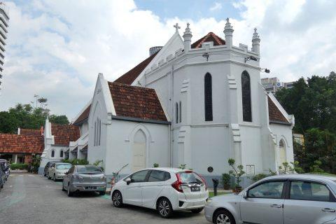 クアラルンプールSt.Mary's教会の外壁