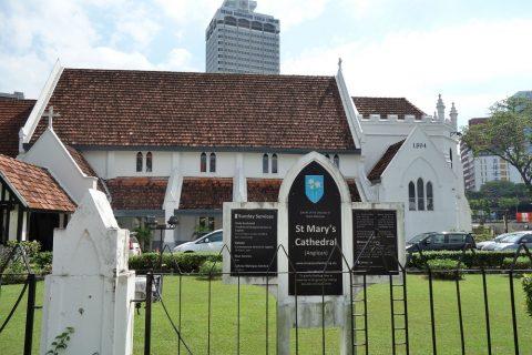 クアラルンプールSt.Mary's教会の外観