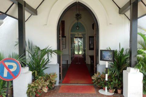 クアラルンプールSt.Mary's教会の入口