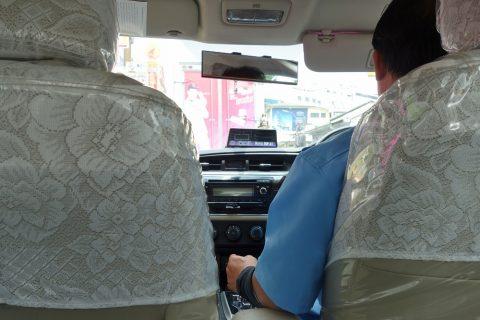 バンコク流しのタクシー