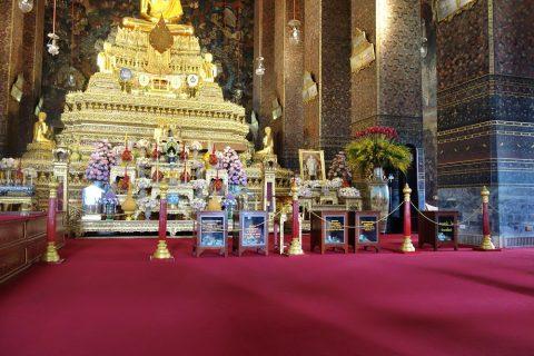 ワットポー祭壇のロープ