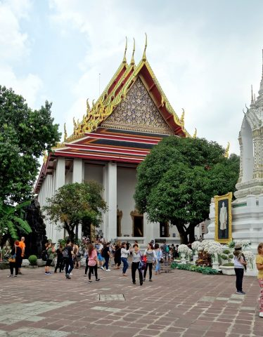 ワットポー大寝釈迦仏のある建物