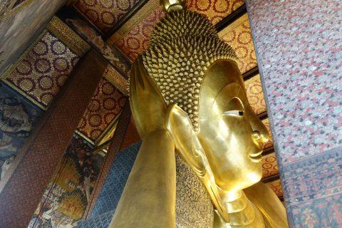 ワットポー大寝釈迦仏の顔