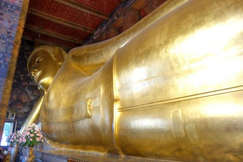 ワットポー大寝釈迦仏のベストショット