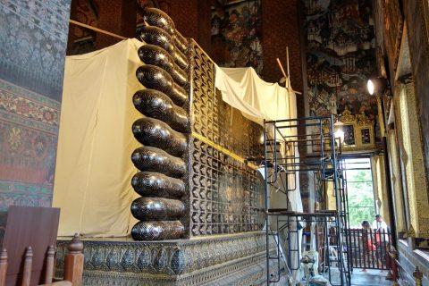 ワットポー大寝釈迦仏の足の裏