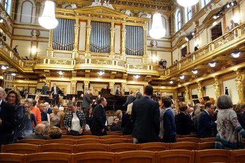 ウィーン楽友協会ホールでコンサート