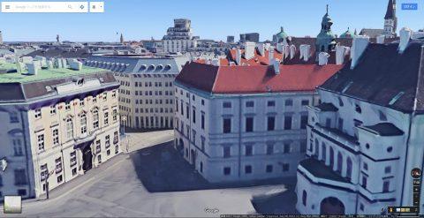 Google-mapの3D建物