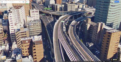 Google-map高架橋