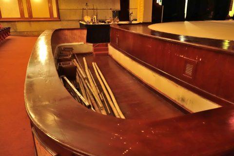 Hanoi-Vietnam-Tuong-Theaterのオーケストラピット
