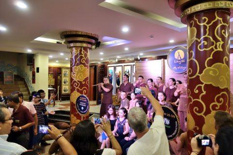 Hanoi-Vietnam-Tuong-Theaterの公演修了後