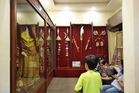 Hanoi-Vietnam-Tuong-Theaterの展示