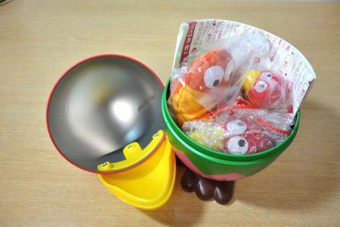 おもちゃのカンヅメ「キョロ缶」の中身