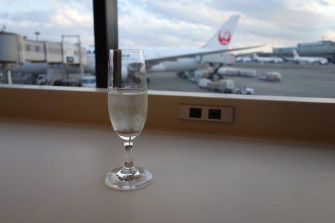 JALサクララウンジの日本酒