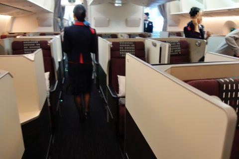 JALスカイスイート787ビジネスクラス