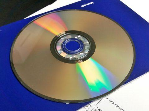 windows7海賊版のディスク