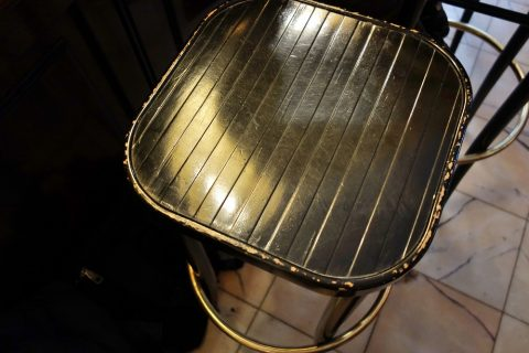 Cafe-Diglasのカウンター席