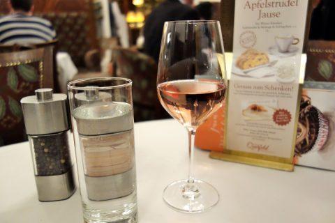 Cafe-Landtmannのロゼワイン