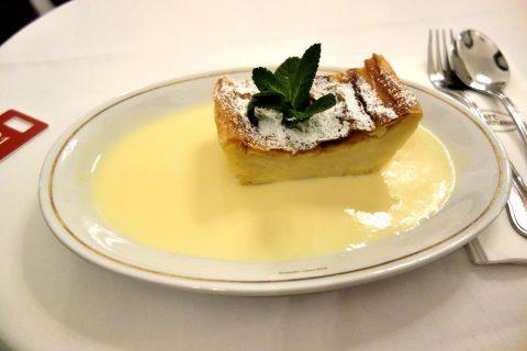 Cafe-Landtmannのミルククリームシュトゥルーデル