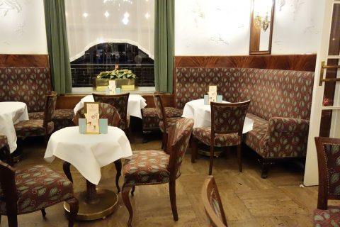 Cafe-Landtmann座席