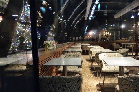 Cafe-Landtmannのテラス席