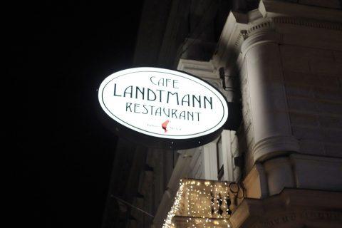 Cafe-Landtmannの歴史
