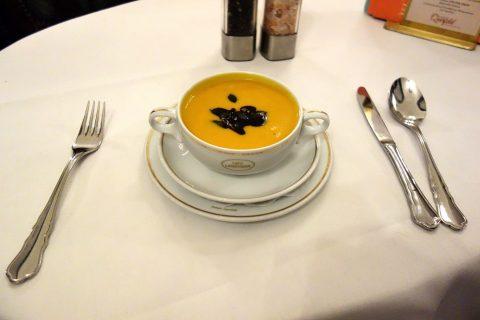 Cafe-Landtmannのパンプキンクリームスープ
