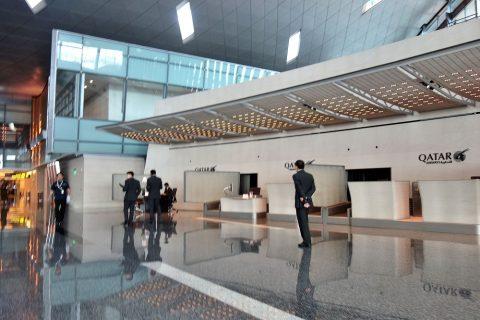 Hamad-International-Airportイミグレーション